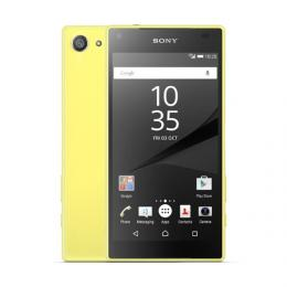 Sony Xperia Z5 Compact LTE E5823 イエロー Android 5.1 SIMフリー (並行輸入品の日本国内発送)